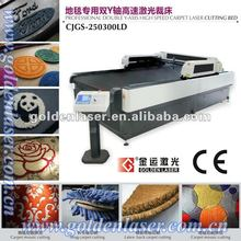 High Speed Automatic Laser Cutter Carpet in Wool,Nylon,PVC,PP