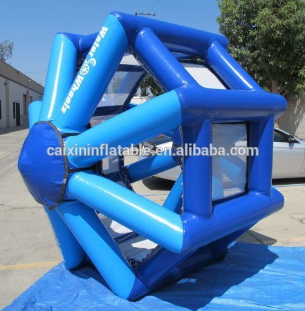 inflatable water roller ball,, inflatable water walking roller, inflatable water wheel