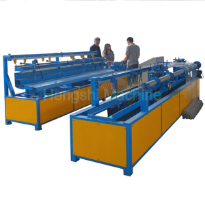 Single wire Automatic chain link fence machine- Fast and Easy operating