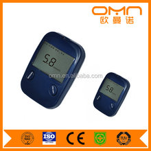 Rapid detection glucometre true test glucometer diabetes management digital glucometer sale with free test strips and lancets