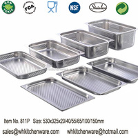 LFGB Stainless steel gastronorm container and more metal detector for food processing industry