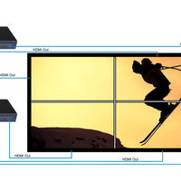 3x2 Video Wall Controller With IR