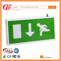 IP20 / IP40 Rechargeable Emergency LED exit sign lamp exit light