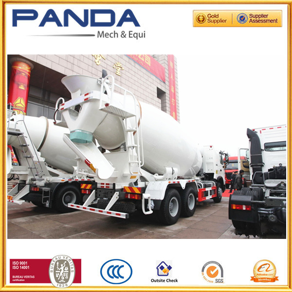 SINOTRUCK HOWO 12m3 concrete mixer truck specifications