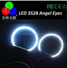 Car 70mm Led Headlight 3528 1210 21 LED Halo Ring Angel Eye e46 80mm 85mm 90mm 95mm 110mm 105mm 110mm 120mm 126mm...145