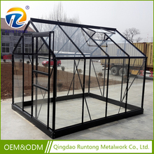 Factory Supply Nature Powder Coated Metal Easily Assembled Garden Small Aluminum Greenhouse