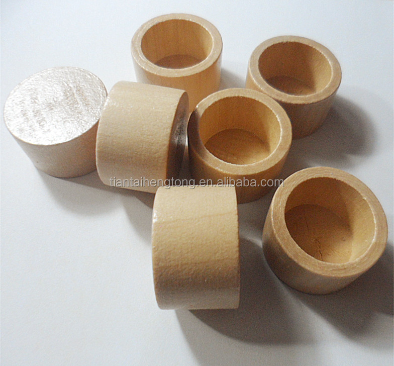32mm in diameter clear varnished cheap wood bottle cap schima wood lid