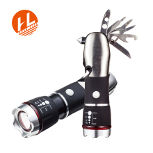 8-in-1 Multi Tool with Super Bright LED Flashlight