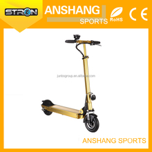 Standing double seat electric scooter