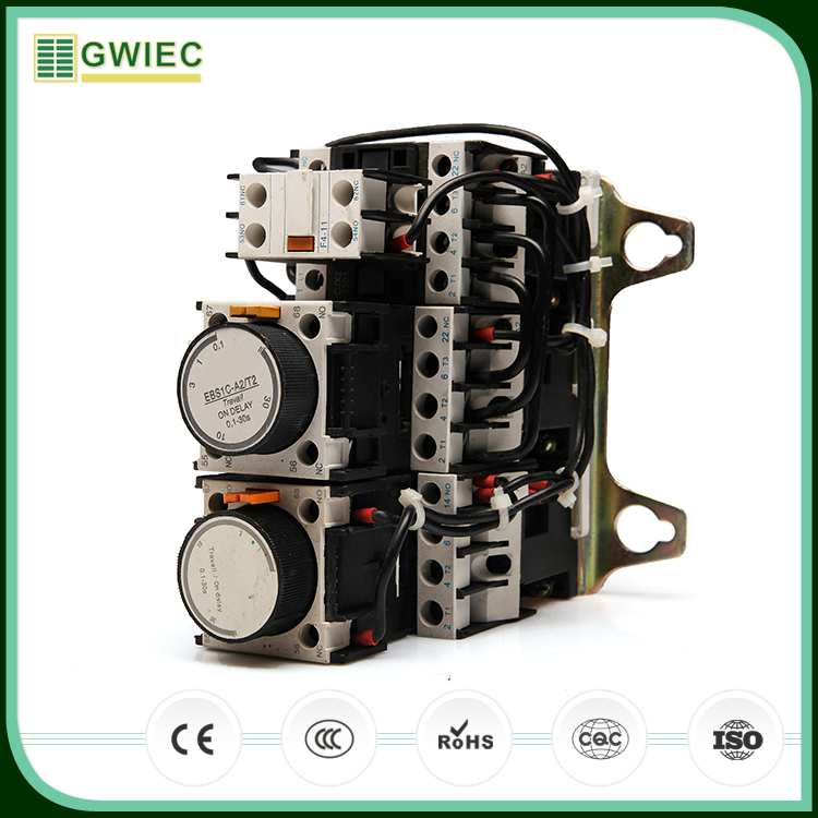 GWIEC Hot Selling Products LC3 Magnetic Motor Soft Starter 3 phase Star Delta Panels
