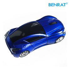 RF 2.4GHz Portable Optical USB wireless car shape mouse