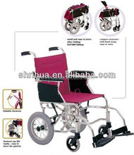 Folding commode chair wheels electric wheelchair lying-down wheel chair