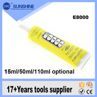 Good Service adhesive sealant glue for E8000 ( 110 ml ) for LCD touch screen housing