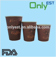 Hot selling disposable 4oz logo printed small paper cups with CE