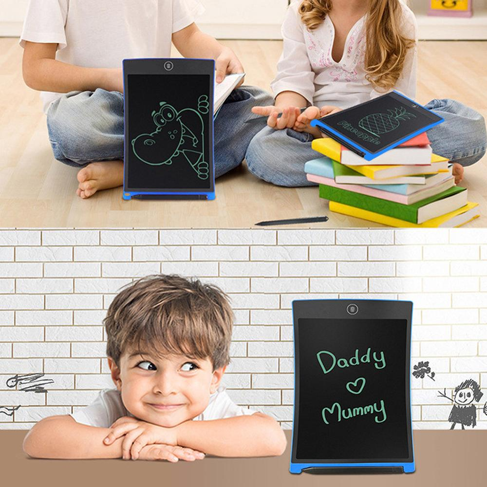 Custom logo 8.5inch LCD erasable drawing pad electronic writing tablet digital memo board
