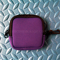 OEM simple neoprene mobile phone MP3 MP4 bag wholesale