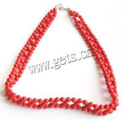 Gets.com natural coral silicone necklace magnetic