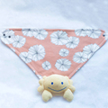 Funny Design Cotton Baby Bandana Set