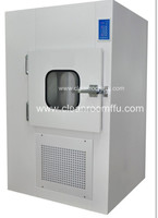 Food industrial required Ventilated Pass box with air shower