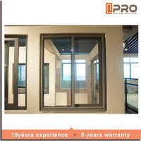 New price of aluminium sliding window weather stripping interior sliding window