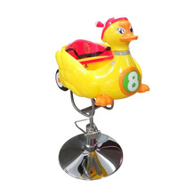 Yellow Duck Kids Haircut Chairs With Music For Hair Salon Chairs