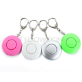 Mini Cute Round ShapePortable Mini Cute Round Shape Personal Alarm With LED Light for Laday Girl Students