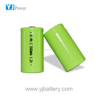 nimh sc battery pack 3.6v 3600mah 1.2v 3500mah c ni-mh battery with battery connector for power amplifiers