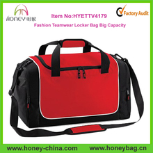 Outdoor Trendy Hot Sale Polyester Teamwear Locker Portable Travel Bag