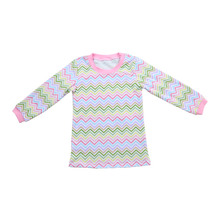 2016 Fall latest halloween kids christmas pajamas tops t shirt printing machines for sale children's long sleeve print shirt