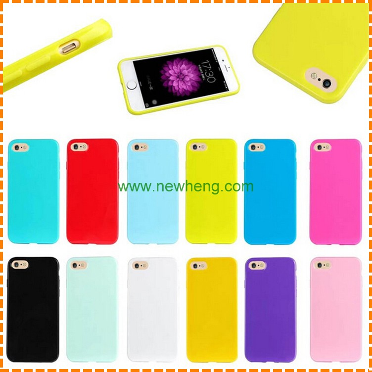 High quality true color TPU back cover case for iphone 7 , for apple 7 phone case