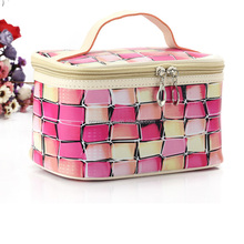 Manufacturers direct new makeup new handbag collection cosmetic bag pu