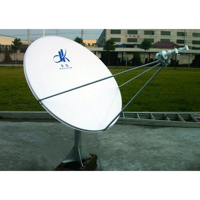 Low-Price 1.2m Parabolic RxTx Earth Station VSAT Satellite Dish Antenna