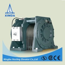 home care elevator gearless traction machine/motor for villa