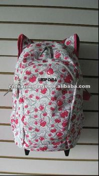 hello kitty wheel school bag backpack school backpack