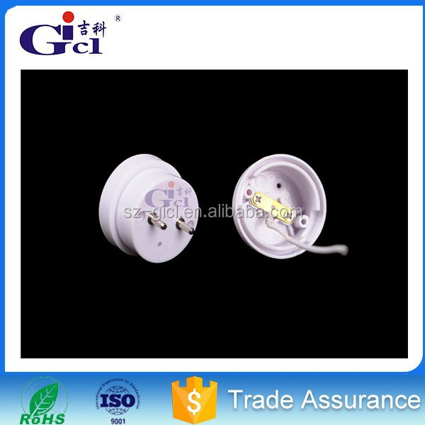 GICL T10004DT/6063 lamp holder/aluminum tube frame/competitive price/led lighting housing