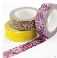 made in china decoration washi paper tape , custom printed washi tape