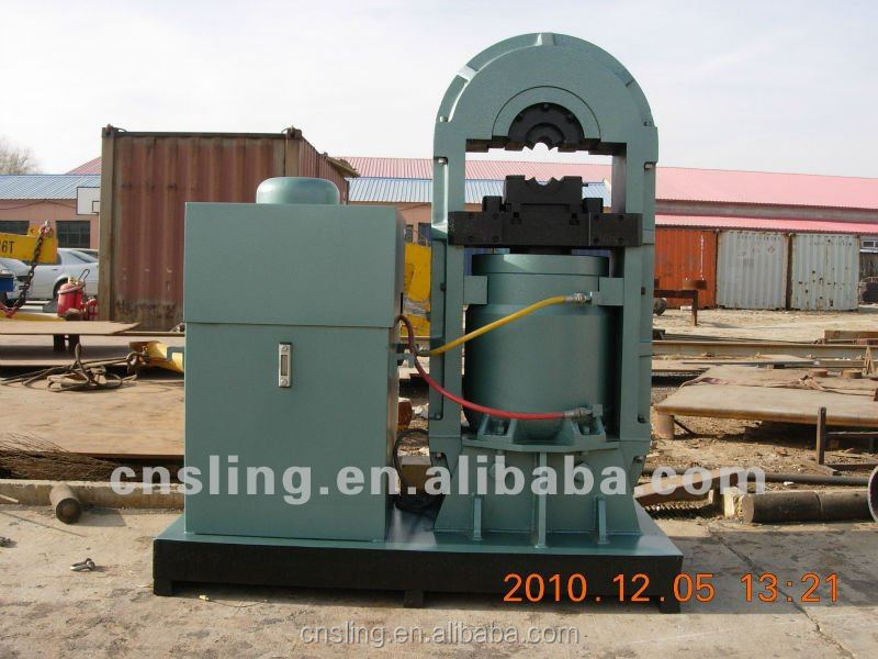used wire rope machine/wire rope swaging machine/1500 ton power press for sale