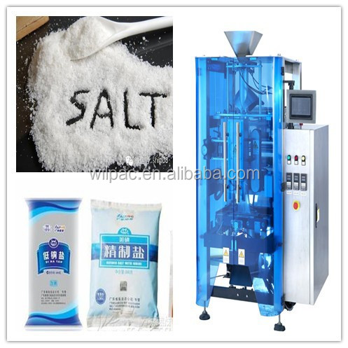Sachet salt packing machine