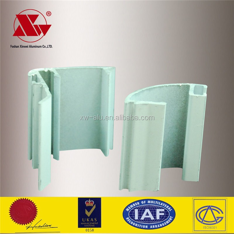 extrusion foshan factory 6063 T5 alloy aluminium profile rate