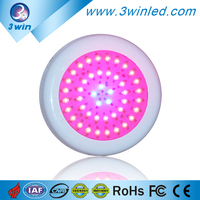LED Grow Light Round Diamond UFO 135W LED Grow Light for Lettuce, Orchid, Strawberries, Tomatoes,Chilli