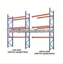 cosmetic paper pallet display rack/ shelf/ stand/ case