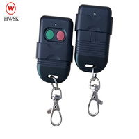 New 2 buttons Malaysia model Wireless Auto Gate Remote Control 433MHz Cloning face to face copy Remote Learning Fixed C2262 1527