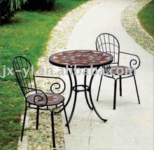 mosaic bistro table and chair