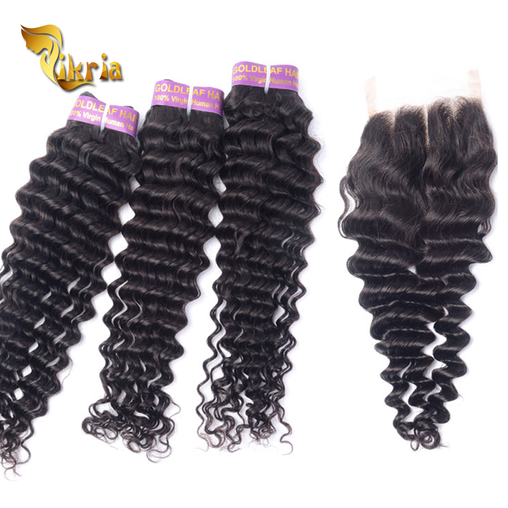 alibaba <strong>trade</strong> assurance fast delivery brazilian deep wave hair bundles with lace closure
