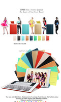 Hot selling Leather Case For Ipad Mini Case Cover with stand fuction