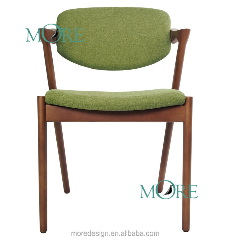 Famous replica kai kristiansen dining chair fabric wooden for Famous chairs