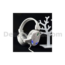 Kubite l67 Stereo Headphone with Volume Control & Microphone for Computer Games/Internet Cafes Headphones
