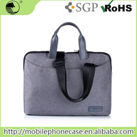 "Wholesale Oem Casual Style 13.5"" Grey Laptop Case With Detachable Shoulder Strap"