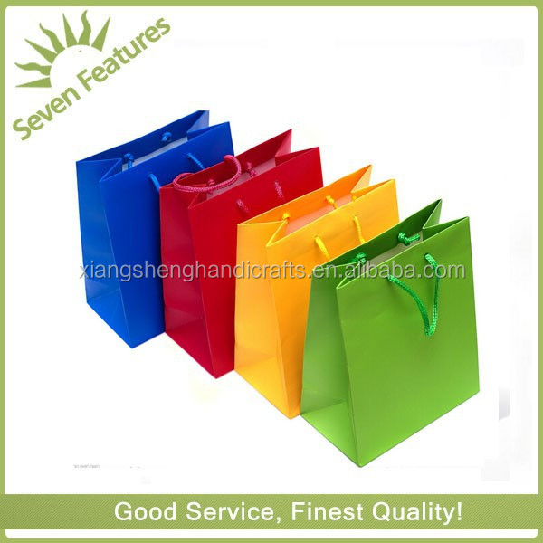 promotion Popular Paperbags for shopping