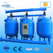 Aquaculture Recirculating System Sand Filter Tank for Shallow Layer By-pass Filtration